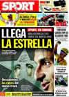 Portada diario Sport del 26 de Julio de 2009