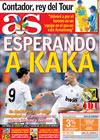 Portada diario AS del 27 de Julio de 2009