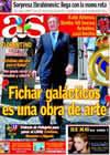 Portada diario AS del 28 de Julio de 2009