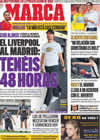 Portada diario Marca del 28 de Julio de 2009