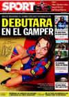 Portada diario Sport del 29 de Julio de 2009