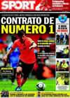 Portada diario Sport del 30 de Julio de 2009