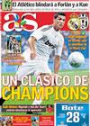 Portada diario AS del 31 de Julio de 2009