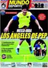 Portada Mundo Deportivo del 31 de Julio de 2009