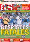 Portada diario AS del 1 de Agosto de 2009