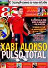 Portada diario AS del 2 de Agosto de 2009