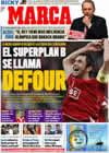 Portada diario Marca del 2 de Agosto de 2009