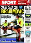 Portada diario Sport del 2 de Agosto de 2009