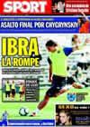 Portada diario Sport del 4 de Agosto de 2009