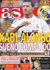 Portada diario AS del 5 de Agosto de 2009