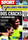 Portada diario Sport del 5 de Agosto de 2009