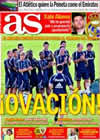 Portada diario AS del 6 de Agosto de 2009