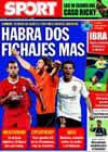 Portada diario Sport del 6 de Agosto de 2009