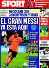 Portada diario Sport del 7 de Agosto de 2009