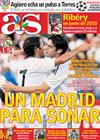Portada diario AS del 8 de Agosto de 2009
