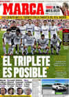 Portada diario Marca del 8 de Agosto de 2009