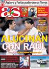 Portada diario AS del 9 de Agosto de 2009