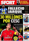 Portada diario Sport del 9 de Agosto de 2009