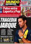 Portada Mundo Deportivo del 9 de Agosto de 2009