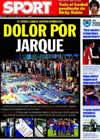 Portada diario Sport del 10 de Agosto de 2009