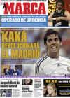 Portada diario Marca del 11 de Agosto de 2009