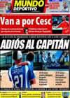 Portada Mundo Deportivo del 11 de Agosto de 2009