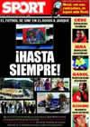 Portada diario Sport del 12 de Agosto de 2009