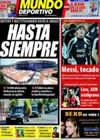 Portada Mundo Deportivo del 12 de Agosto de 2009