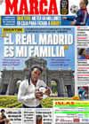Portada diario Marca del 14 de Agosto de 2009