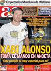 Portada diario AS del 15 de Agosto de 2009