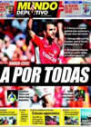 Portada Mundo Deportivo del 15 de Agosto de 2009