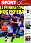Portada diario Sport del 16 de Agosto de 2009