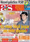 Portada diario AS del 17 de Agosto de 2009