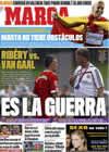 Portada diario Marca del 18 de Agosto de 2009