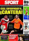 Portada diario Sport del 18 de Agosto de 2009