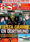 Portada diario AS del 19 de Agosto de 2009