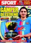 Portada diario Sport del 19 de Agosto de 2009