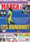 Portada diario Marca del 21 de Agosto de 2009