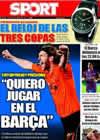 Portada diario Sport del 22 de Agosto de 2009