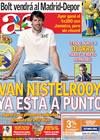 Portada diario AS del 23 de Agosto de 2009