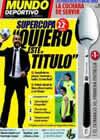 Portada Mundo Deportivo del 23 de Agosto de 2009