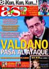 Portada diario AS del 26 de Agosto de 2009