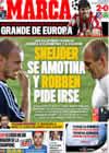 Portada diario Marca del 26 de Agosto de 2009