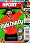Portada diario Sport del 26 de Agosto de 2009