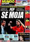 Portada Mundo Deportivo del 26 de Agosto de 2009