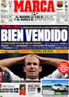 Portada diario Marca del 28 de Agosto de 2009