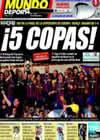 Portada Mundo Deportivo del 29 de Agosto de 2009