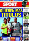 Portada diario Sport del 30 de Agosto de 2009