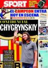 Portada diario Sport del 31 de Agosto de 2009