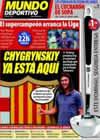 Portada Mundo Deportivo del 31 de Agosto de 2009